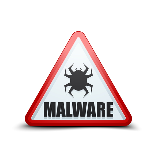 malware warning sign vectors 04 other icons free download