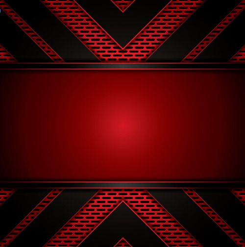 Metallic with red background vector 03 free download