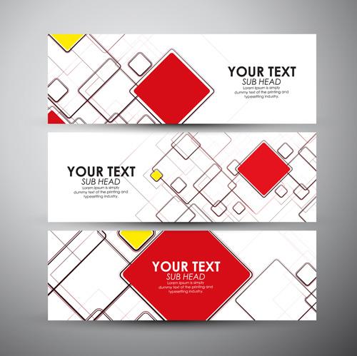 Modern business banners design set 10 - Vector Banner, Vector ...