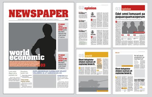 Modern Newspaper Template Idealstalist