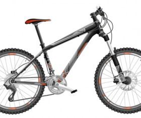 Mountain bike vector design 01