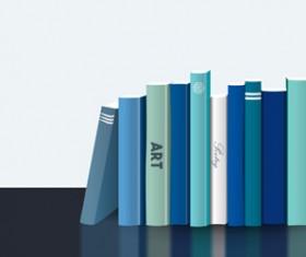 Neat book vector material 03