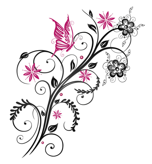 Vectors Design Free Download Floral