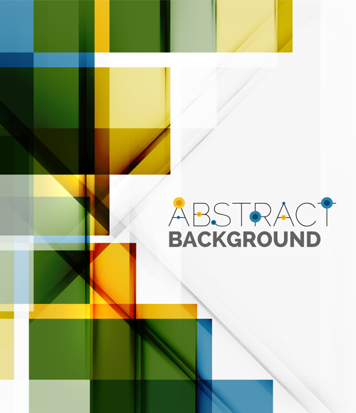 Plaid abstract background vector 03