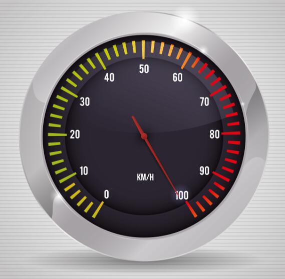 Speed design elements vector 04