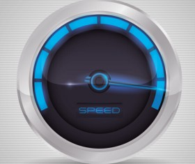 Speed design elements vector 06