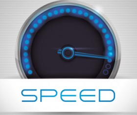 Speed design elements vector 07