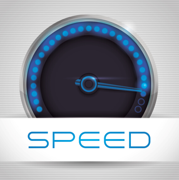 Speed design elements vector 07