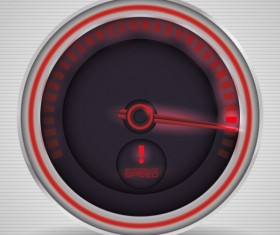 Speed design elements vector 08