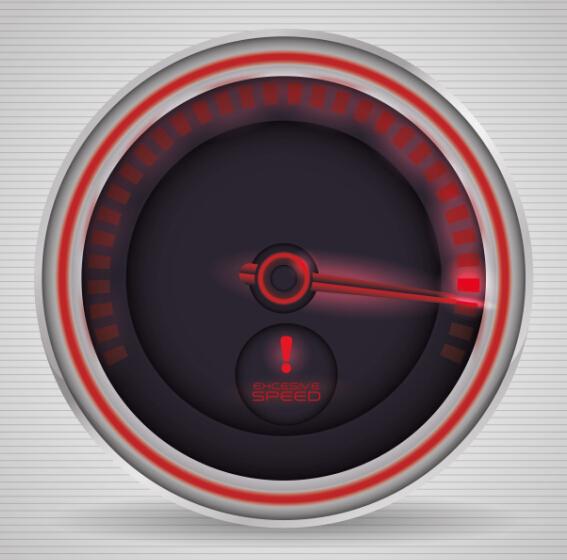 Speed design elements vector 08