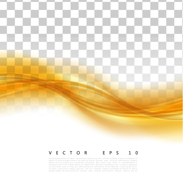 yellow abstract background illustration vector 01 vector