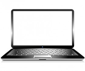 laptop templates vector materials 03