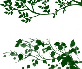 tree branches and leaves photoshop brushes