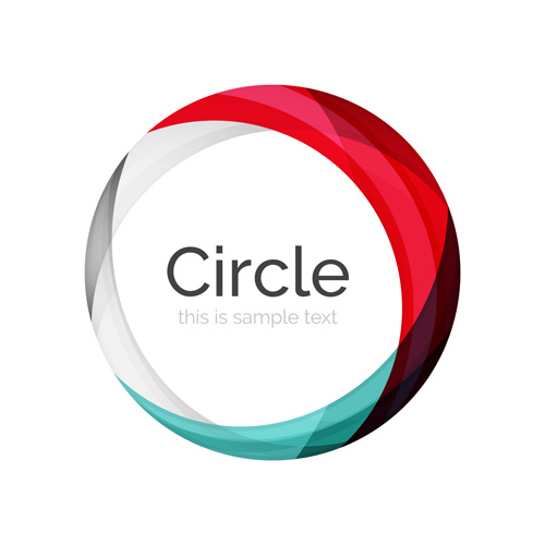 abstract circle colored background vector 07 free download abstract circle colored background