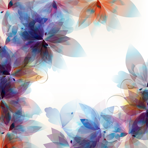 Abstract Floral Background Graphics Vector Free Download