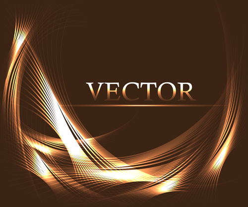 Abstract Lines With Brown Background Vector 04 Free Download