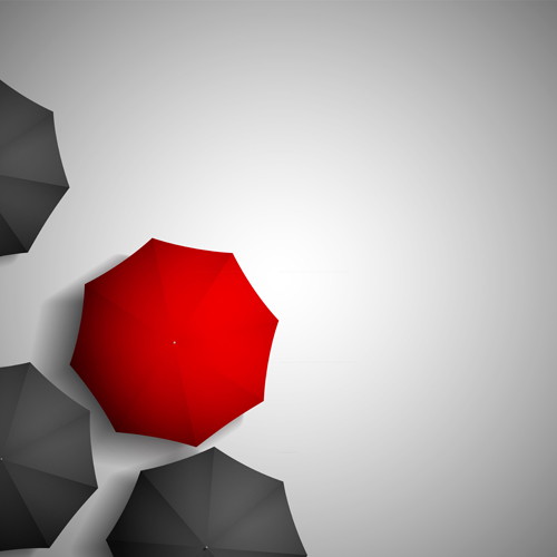 black with red umbrellas creative background 02 free download