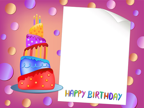 Blank paper with birthday card vector 01 vector card free download blank paper with birthday card vector 01 bookmarktalkfo Choice Image