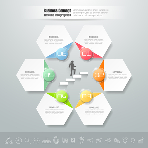 Business Infographic creative design 4109