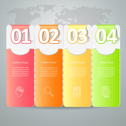 Business Infographic creative design 4110