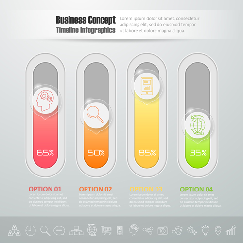 Business Infographic creative design 4114