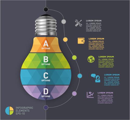 Business Infographic creative design 4133