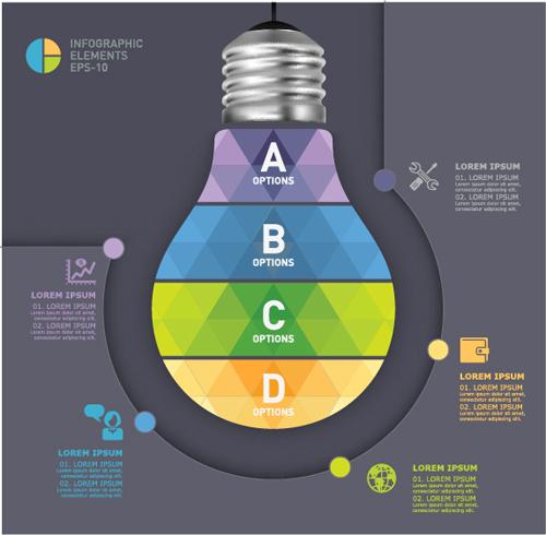Business Infographic creative design 4137