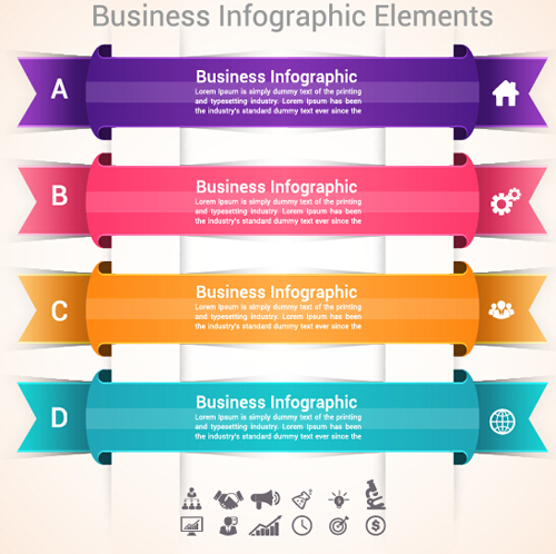 Business Infographic creative design 4201