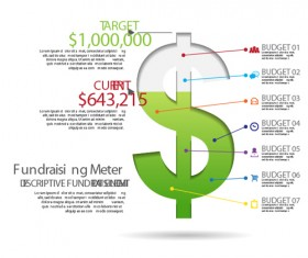 Business finance infographic vector 02