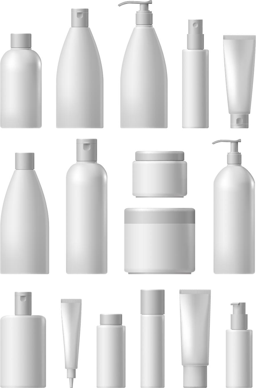 Cosmetic packaging vector material 01