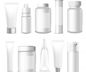 Cosmetic packaging vector material 02