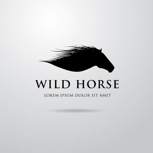 Creative Horse Logo Vector Design 03