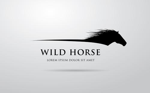 Creative Horse Logo Vector Design 05
