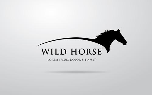 Creative Horse Logo Vector Design 07