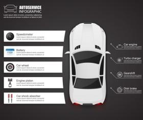 Creative car infographic design 05