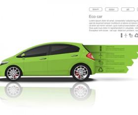 Creative car infographic design 07
