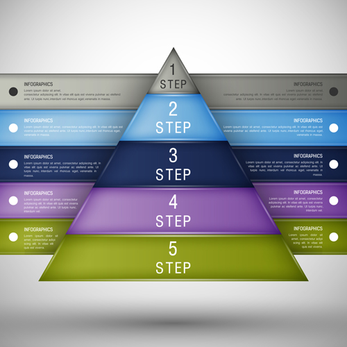 Creative infographics design options elements 06