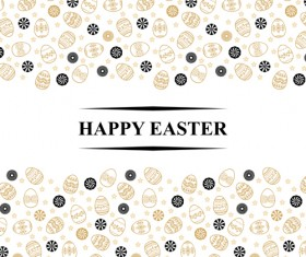 Easter egg backgrounds vectors 01