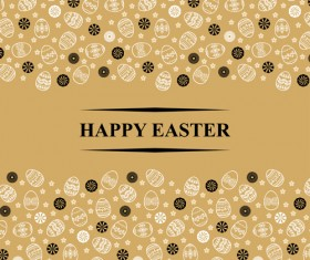 Easter egg backgrounds vectors 02