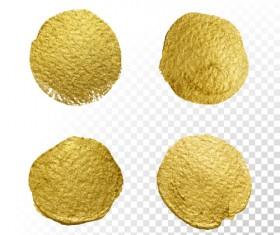Golden blots vector illustration 01
