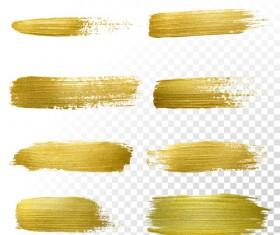 Golden blots vector illustration 02