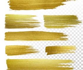 Golden blots vector illustration 03