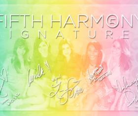 Harmony signatures photoshop brushes