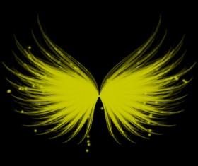 Light wing photoshop brushes