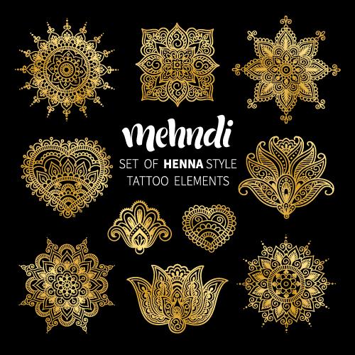 Henna Mehndi Vector Free : Henna vector free download makedes