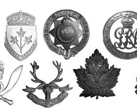 Military Cap Badges Brushes