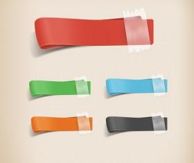 PSD Ribbon Templates set