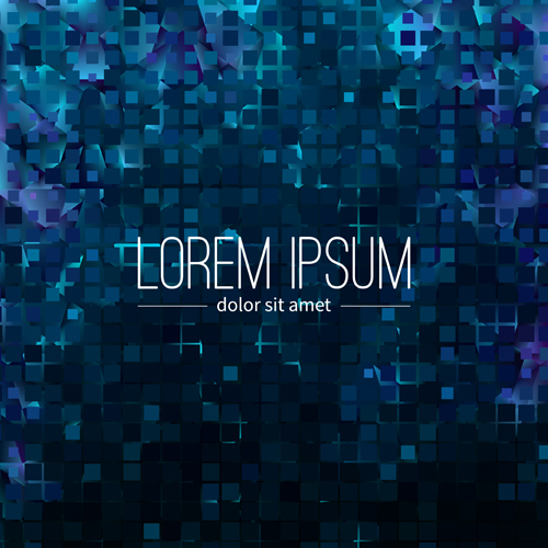 Polygon debris modern background vector 10