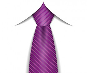 Purple ties vector material