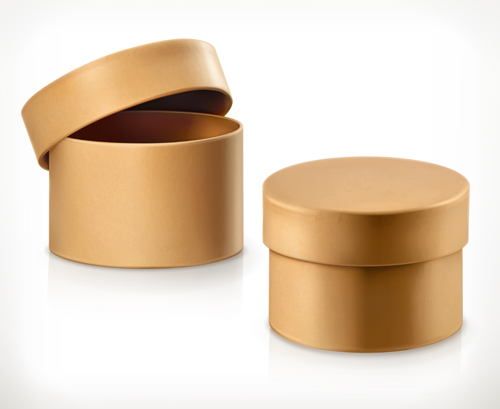 round cardboard boxes
